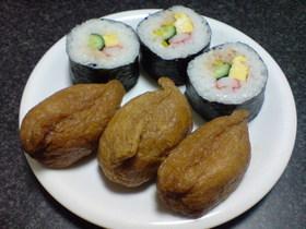 ラップで簡単巻き寿司☆