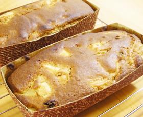 HKMでシナモン香るアップルケーキ