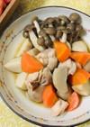 5分×3煮の鶏肉と里芋の煮っころがし♡