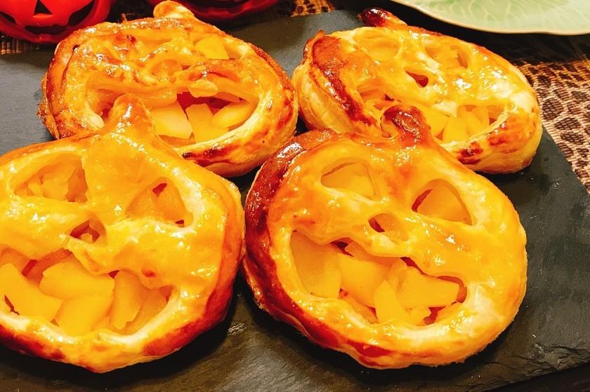 ハロウィン☆かぼちゃのアップルパイ