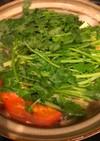 高タンパク低カロリー◎さっぱりトマト鍋