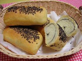 黒ごまクリームミニミニ食パン