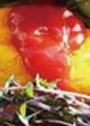 オムレツ・トマトジュレソース添え