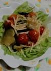 レタスともやしのホットサラダ