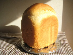 HBで♪高級ミルク食パン