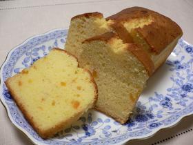 クリームチーズマーマレードパウンドケーキ