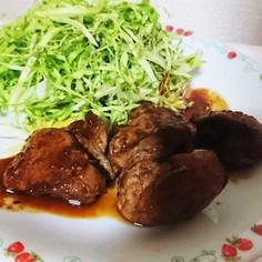 鶏レバーの焼き肉