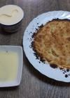 簡単、卵なしリンゴのクランブルケーキ