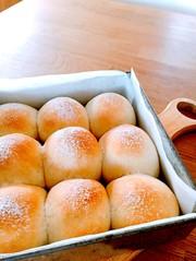 簡単ふんわり♡ミルクのちぎりパン♡の写真