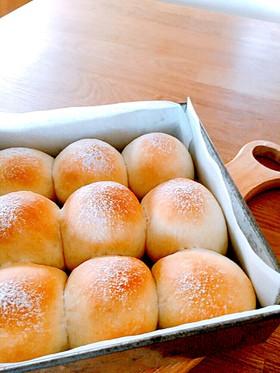 簡単ふんわり♡ミルクのちぎりパン♡