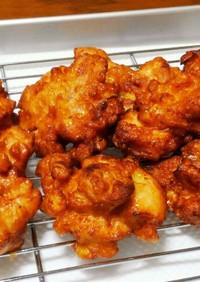 好食感☆蓮根と鶏ムネ肉の落とし揚げ