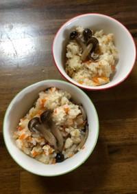我が家の炊き込みご飯(もち米入り)