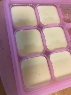 離乳食 ホワイトソース(豆乳ベース)
