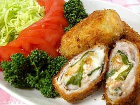 キムチーズ豆腐とんかつ
