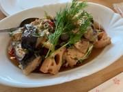 鯖と野菜のごちそうハーブマリネの写真