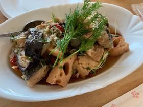 鯖と野菜のごちそうハーブマリネ