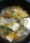 とろとろ白菜の中華卵スープ
