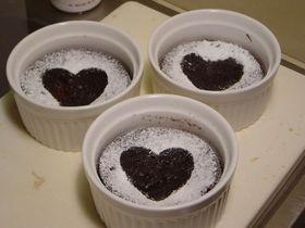 プチショコラケーキ
