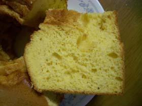 シーベリーのシフォンケーキ