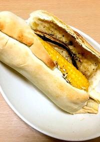 トウモロコシとバニラの包み焼き