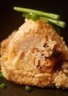 秋刀魚とカマンベールチーズの炊き込みご飯