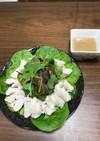棒棒鶏風サラダ