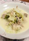 豚バラと白菜の豆乳煮