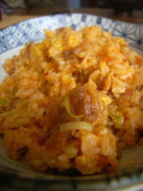 キムチ炒飯(赤坂中華風)