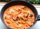 塩麹鶏と彩り野菜のトマトシチュー