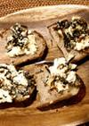ふじっ子昆布煮とクリームチーズパン