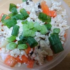 豆腐と野菜の鶏そぼろ