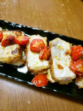 太刀魚とトマトのソテー
