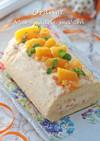 マーマレードマームのオレンジロールケーキ