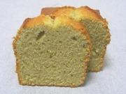 そば粉のパウンドケーキの写真