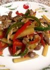 青椒肉絲☆ 野菜たっぷり、ご飯がすすむ♪