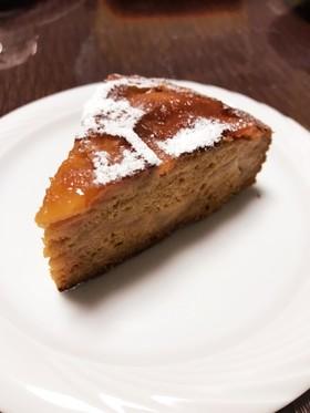 リンゴたっぷりタタン風ケーキ〜炊飯器で〜