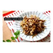 豚肉とごぼうの甘辛生姜炒めの写真