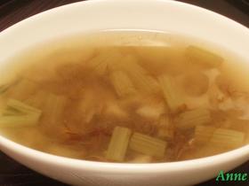 ふきとれんこんの味噌汁
