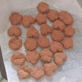 ギーで作る!ふすまプロテインクッキー☆