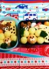 幼稚園(年中)双子のお弁当21