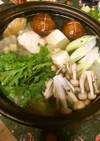アンコウの水炊き鍋