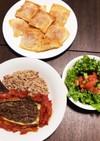 トルコ料理 カルヌヤルク(ナスの肉詰め)