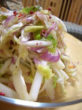 白菜のマリネサラダ