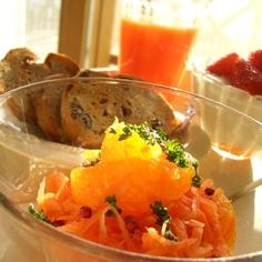にんじんとオレンジのサラダ