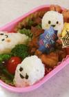 幼稚園 お弁当 ハロウィン(おにぎり)