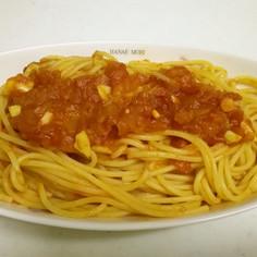 濃厚トマトソースパスタ