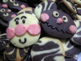 アンパンマン&カレーパンマン☆クッキー♪