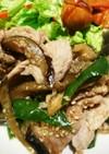 簡単❤豚肉と茄子とピーマンの味噌炒め
