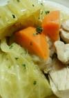 鶏肉とキャベツの煮込み