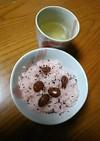 甘納豆で作る甘~い赤飯☆